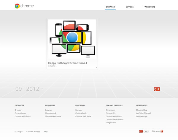 Chrome Time Machine