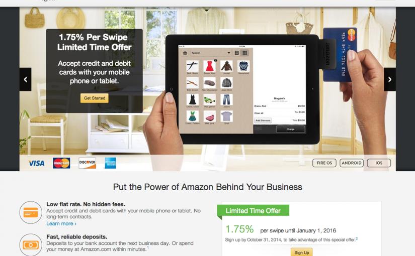 Amazon、モバイル支払サービスLocal Registerを開始