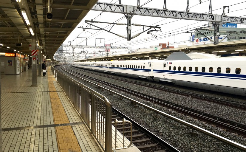浜松駅新幹線ホーム