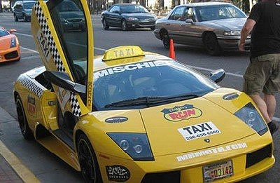 ムルシエラゴのタクシー
