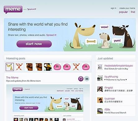 Yahoo Meme Opens Up Its API