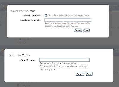 Facebook やTwitter を追加