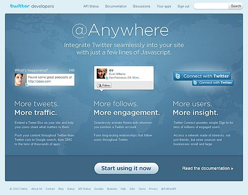 Twitter@Anywhere