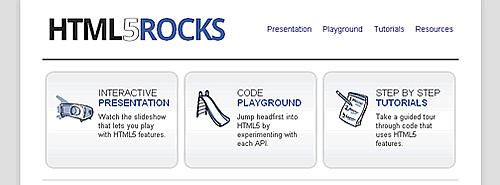Google - HTML5Rocks