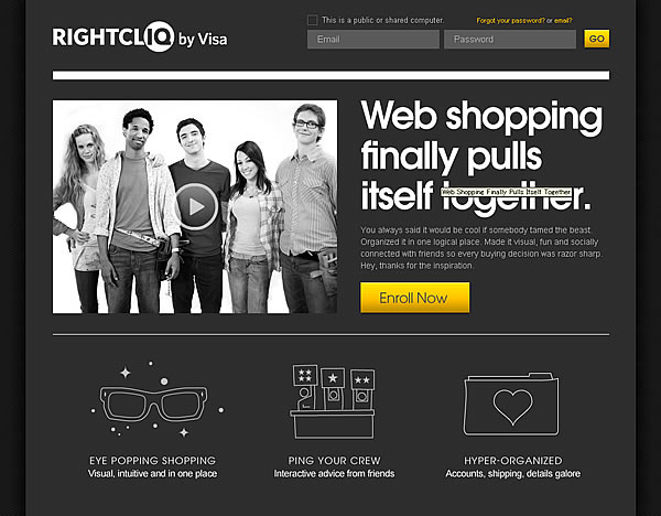 Rightcliq by Visa