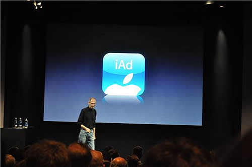 Appleのモバイル広告プラットホームiAd