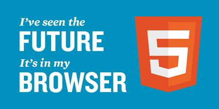 HTML5推進ステッカー