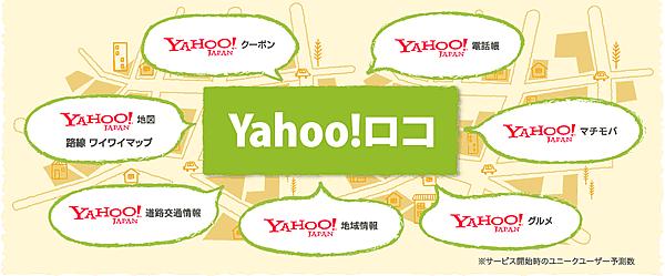 Yahoo!ロコ連携サービス一覧