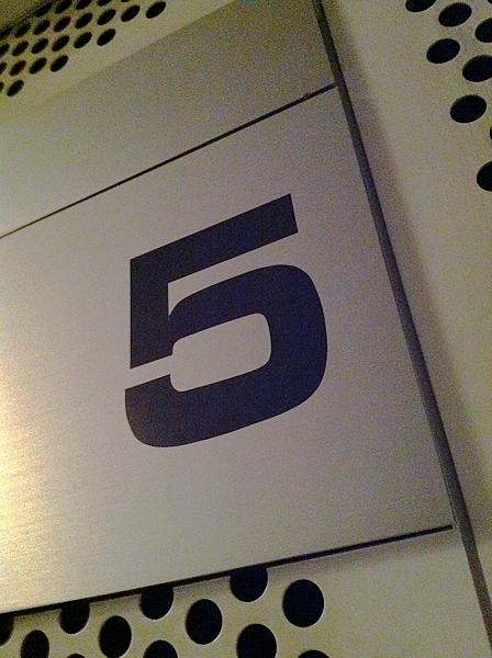 新フロアーの5F