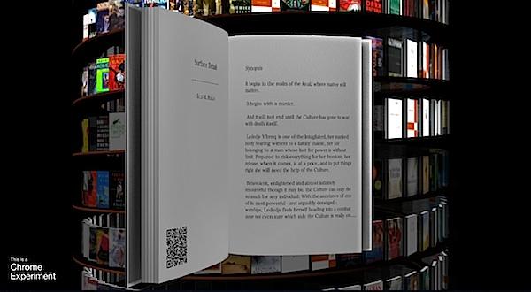 Google WebGL Bookcase
