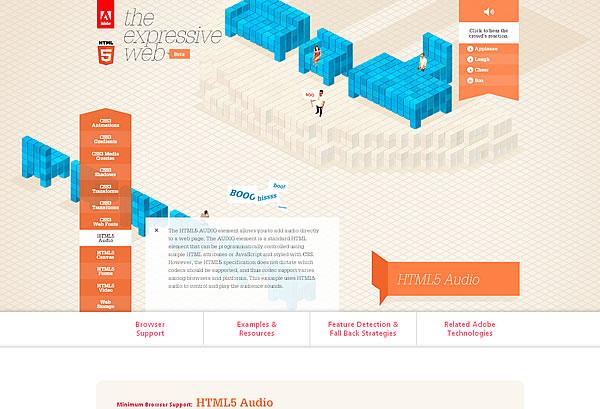 Adobe - The Expressive Web - Beta