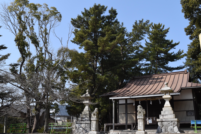 浜松市中区広沢町 日枝神社