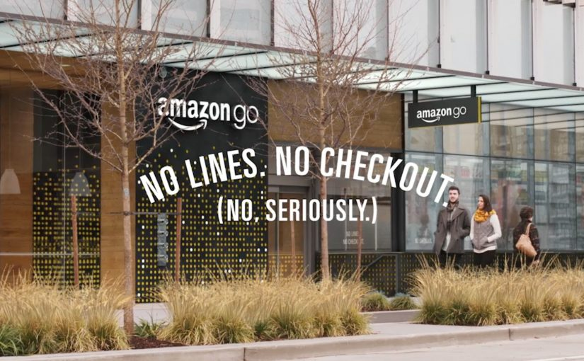 Amazon Go レジのお会計待ちいらずでスマート