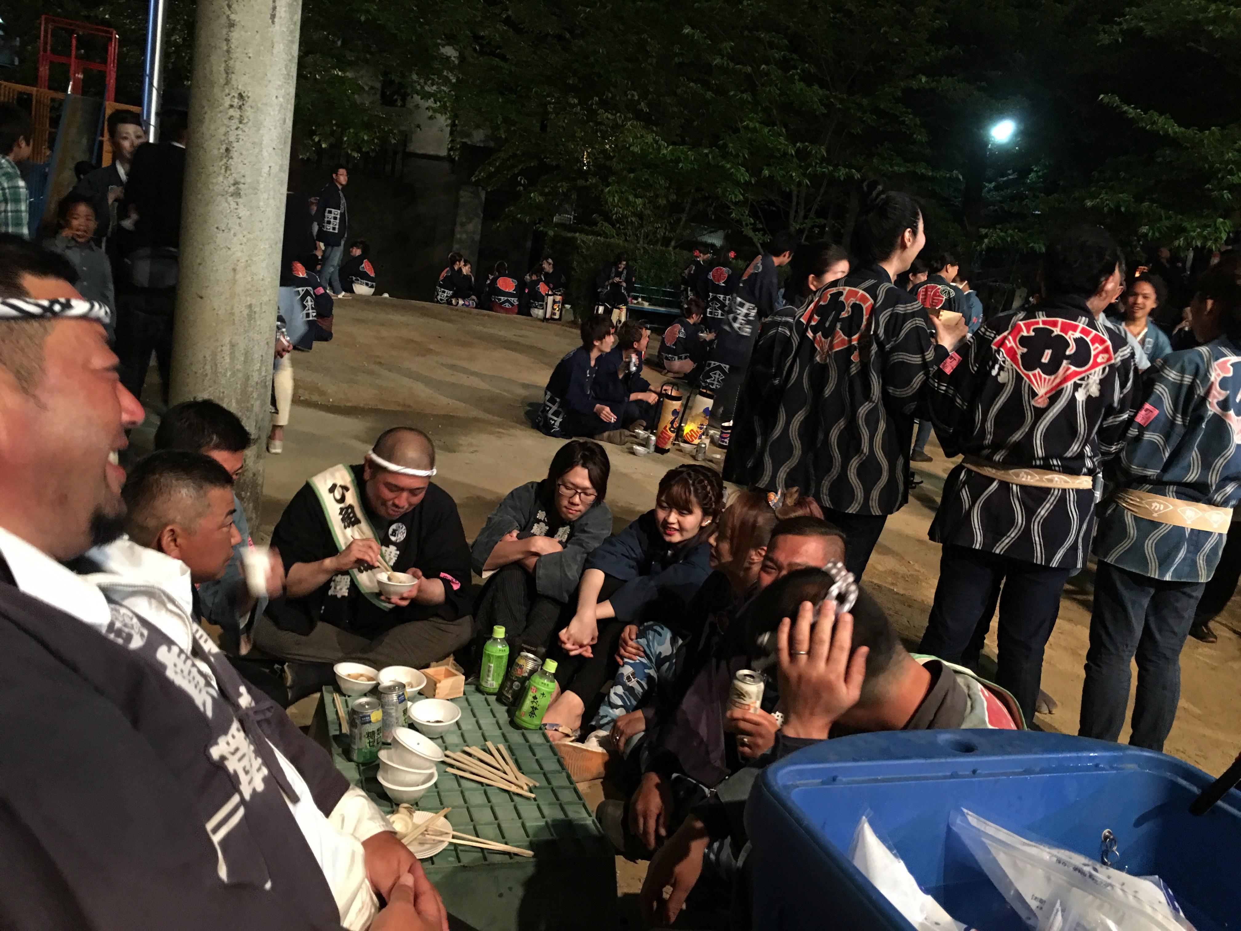 平成29年 浜松まつり 広沢町凧揚会ひ組